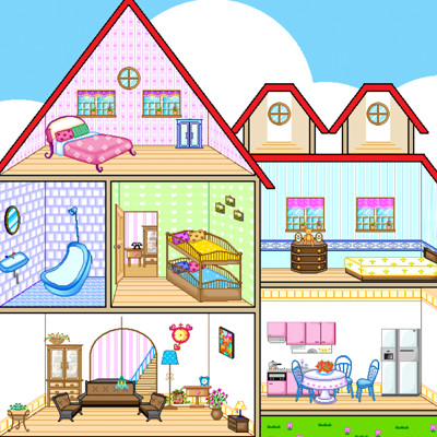 Dollhouse Games, play them online for free on GamesXL