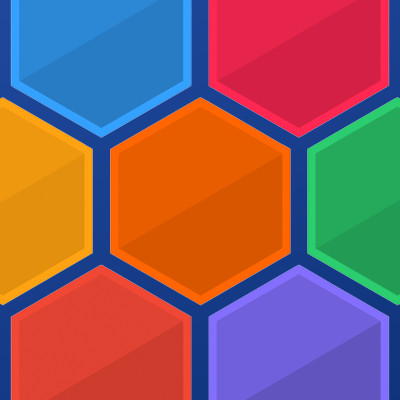 play hexagon a free online game on kongregate - 400×400