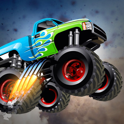 Monster Truck Games Play Them Online For Free On Gamesxl