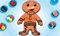 Decorate Gingerbread Boy
