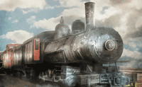 Cargo Steam Train