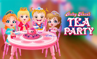 Baby Hazel Tea Party