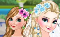 Bride Elsa & Bridesmaid Anna