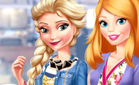 Elsa & Barbie Blind Date