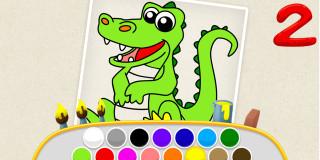 Kids Color Book 2 - Thema spiele - 1001 Spiele