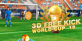 3d Free Kick World Cup 18 Sports Games Games Xl Com
