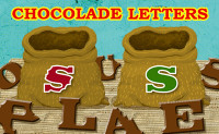 Chocoladeletters