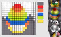 Mosaico 16x16 - Páscoa