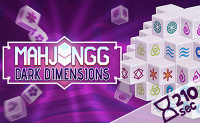 Mahjong Dark Dimensions: 210 seconds