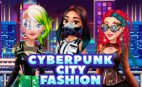 Cyberpunk City Fashion