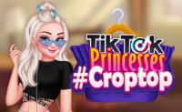TikTok Princesses #croptop