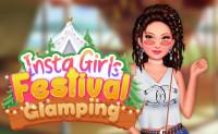 Insta Girls Festival Glamping