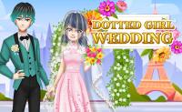 Dotted Girl Wedding