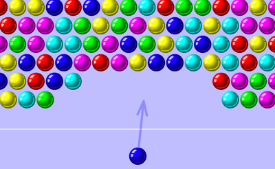 Spielen Bubble Shooter