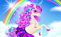 Unicorn Dress Up Girls