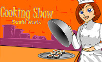 Cooking Show Sushi Rolls