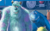 Monsters Inc Alphabets